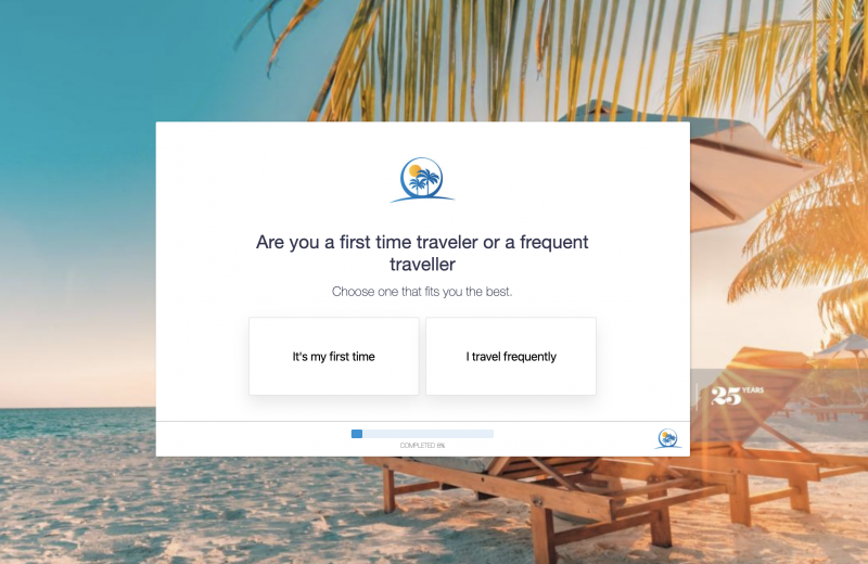 Travel Inquiry Form Template