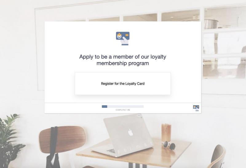 Loyalty Member Registration Form Template